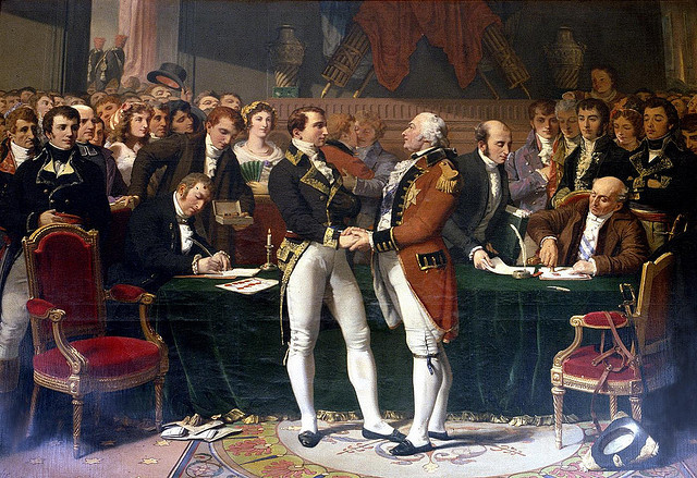 Treaty of Amiens signed with Britain