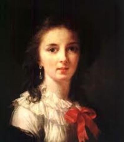 Marie-Louise of Austria, future wife of Napoleon, born in Vienna