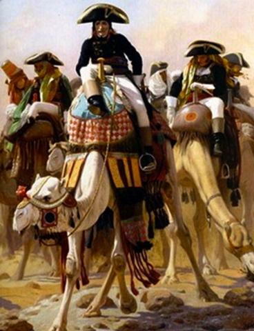 Napoleon marches into Syria
