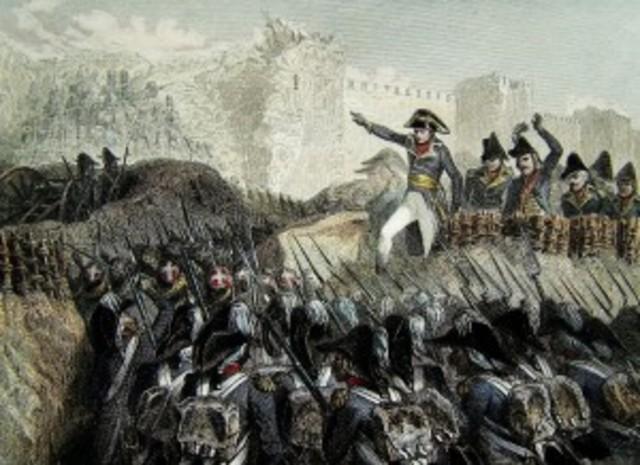 Napoleon's failed attempt to capture Acre