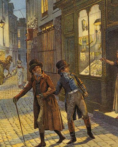 Napoleon returns to Paris to clear his name