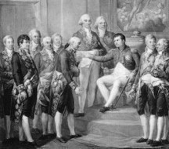 Peace Treaty of Luneville signed with Austria