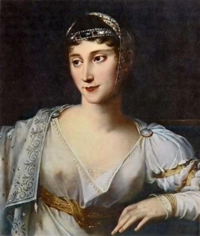Pauline (Maria Paola) Bonaparte born at Ajaccio