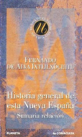 Historia de la Nueva España