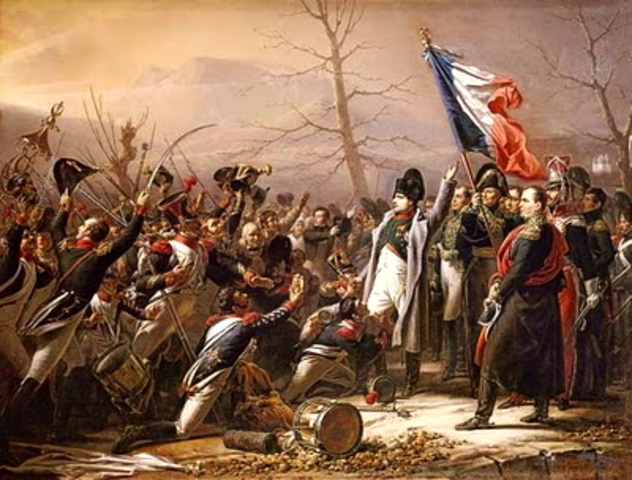 Napoleon arrives in Paris, marking the Beginning of the Hundred Days