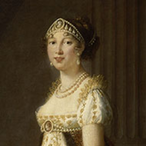 Caroline (Maria Annunziata) Bonaparte, born at Ajaccio