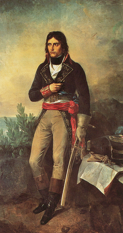 Napoleon appointed Commander-in-Chief of the Army of Italy