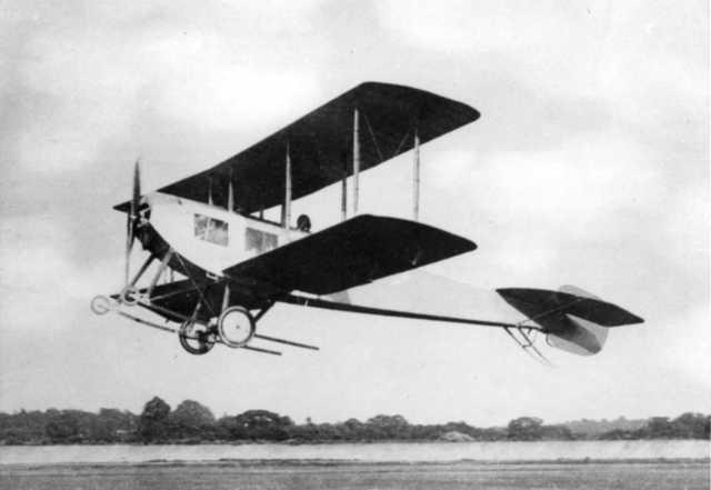 Maiden Flight at Brooklands