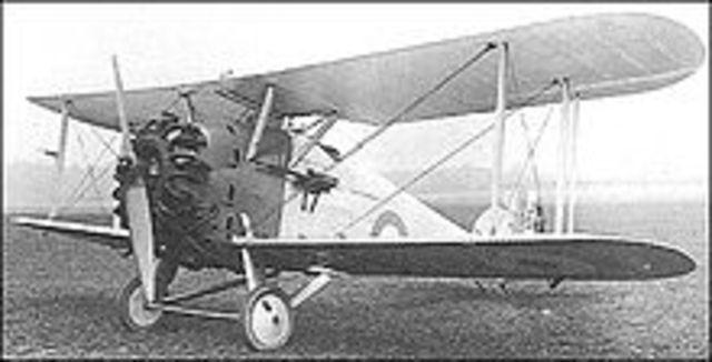 First Hawker Plane