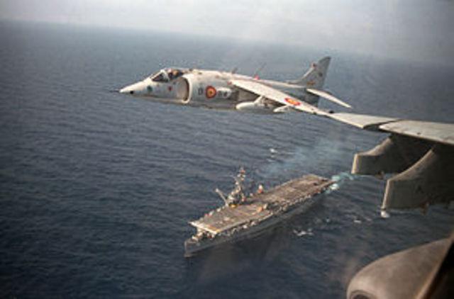 """"""" Helicopty"""" Hawker Harrier"""