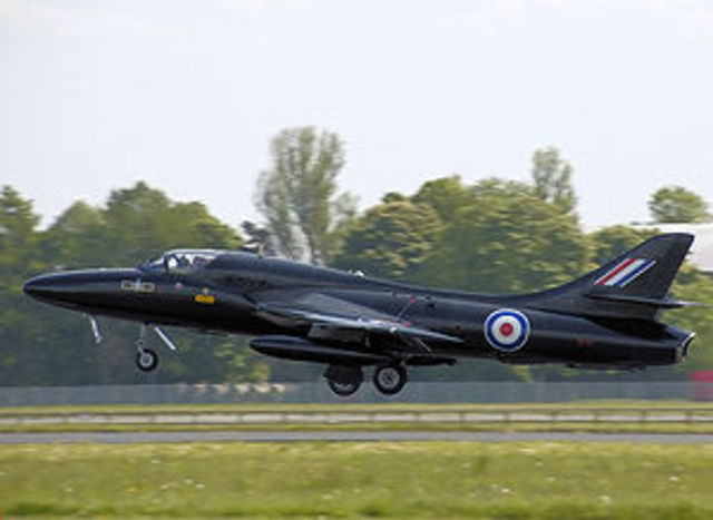 """Stealthy"" Hawker Hunter"