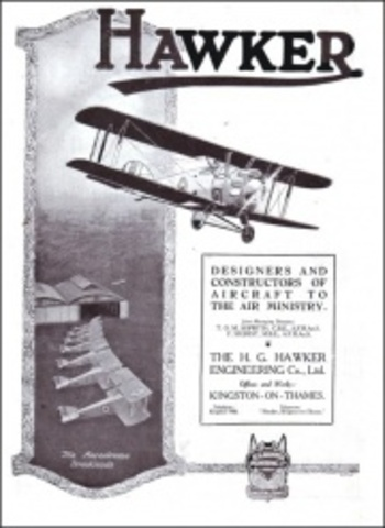 Sopwith changes to Hawker