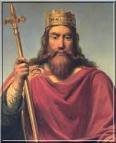 Clovis becomes King