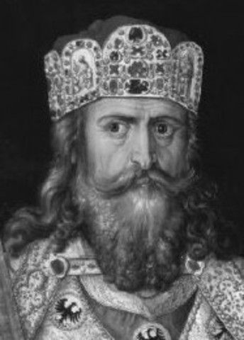 Charlemagne crowned Emperor of Rom