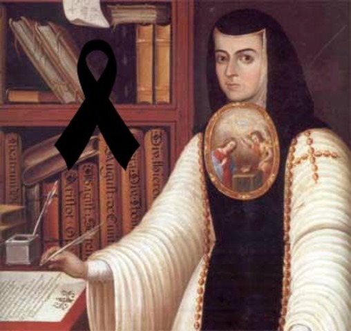 Muere Sor Juana Inés