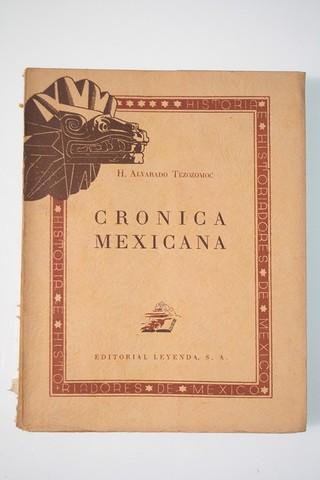Se Pública la Cronica Mexicana por Tezozomoc