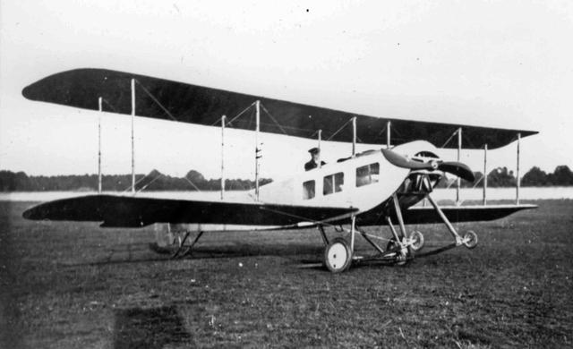 The Sopwith Three-Seater