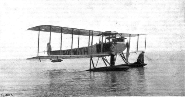 Sopwith 1913 Circuit of Britain Floatplane