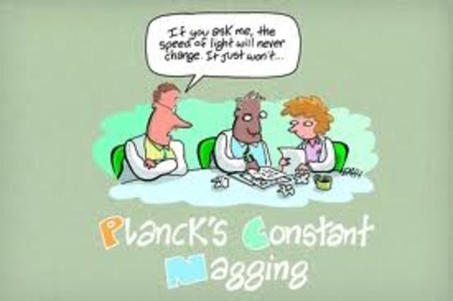 Max Planck -  Planck's constant
