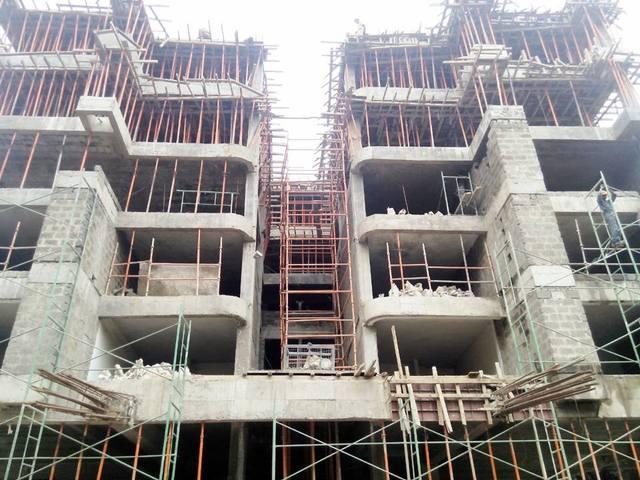 Trident Grand Riverside - Progress Update as of 5th July 2014