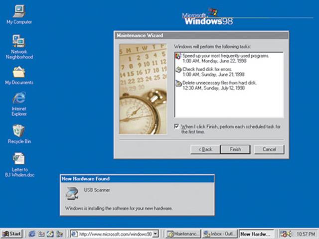 Windows 98, Windows 2000, Windows Me, Windows évolue pour le travail et les loisirs