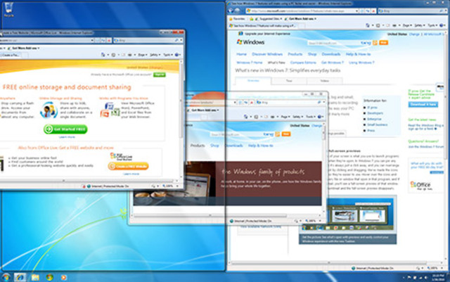 Windows 7 introduit l'interface tactile Windows