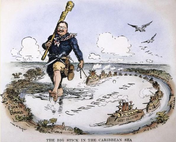 Theodore Roosevelt's Corollary to the Monroe Doctrine