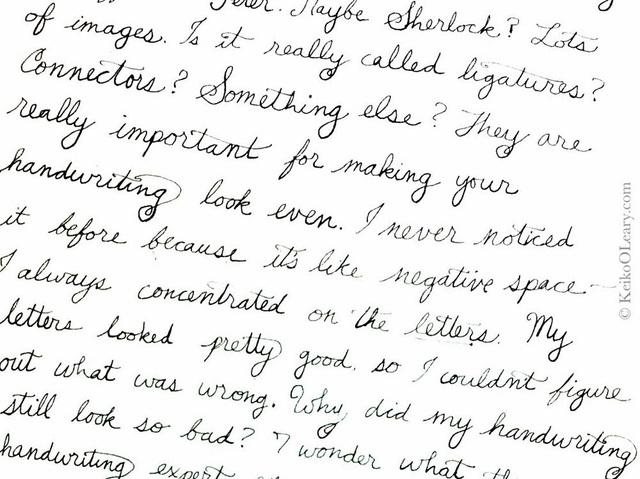 Writting - Cursive