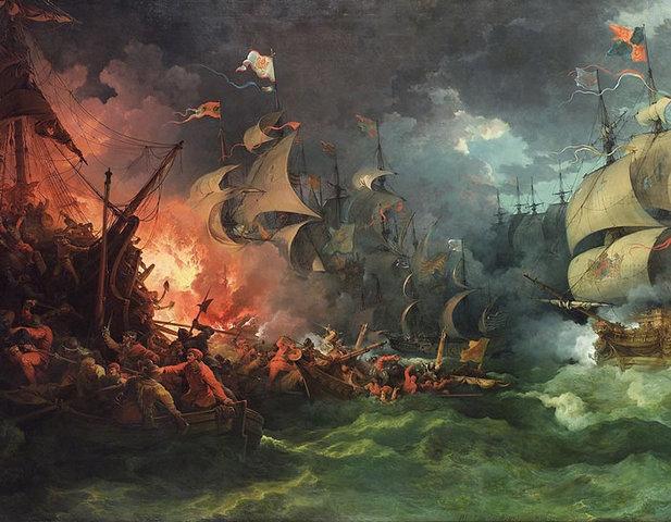 Spainish Armada Defeated