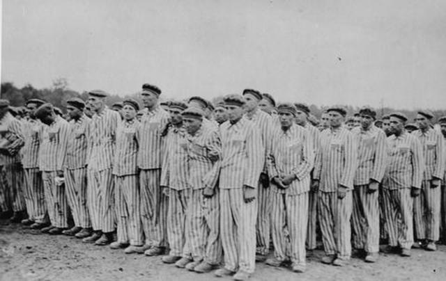The first Jewish concentration camp is created