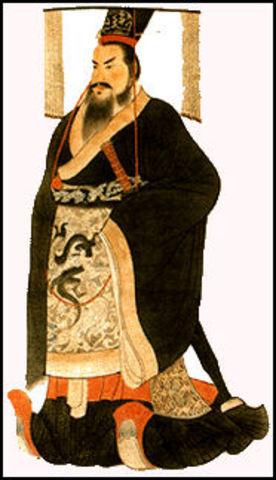 221 BC : Start of Qin Dynasty