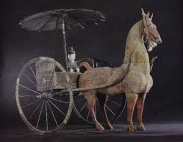 1800BC : Horse drawn Chariots