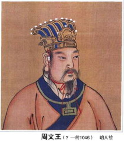 1122 BC :Start of Zhou Dynasty