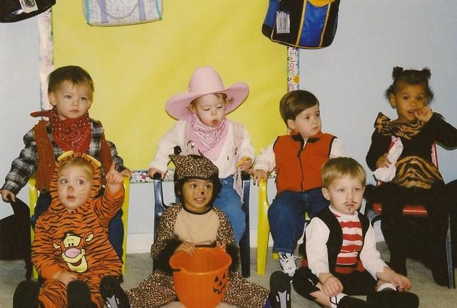 first Halloween at school