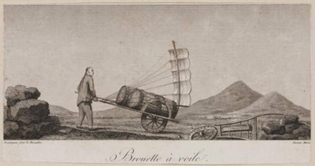 200 BC : Wheel Barrow was Invented