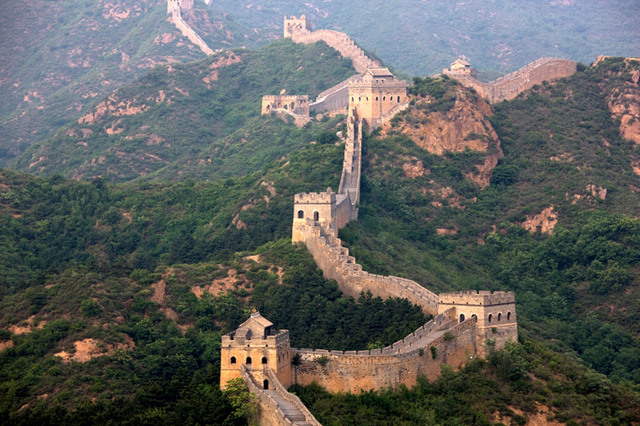 1400 AD : Great wall of China Extension
