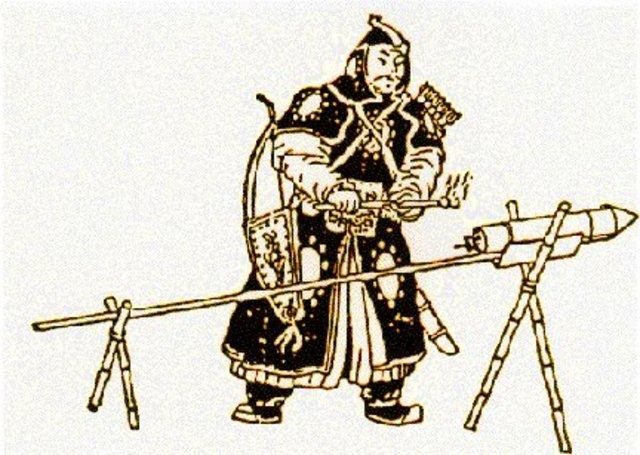 1100 AD : Invention of Gun Power