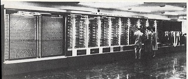 Primera computadora IBM