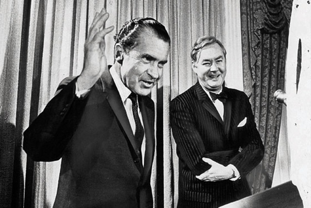 Nixon appoints Moynihan to White House Staff