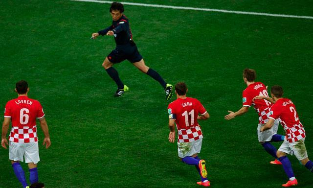 Brasil goleó en el primer partido.
