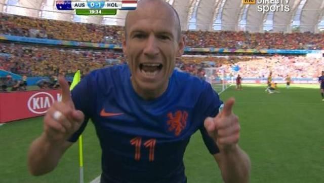 Es un Robben.