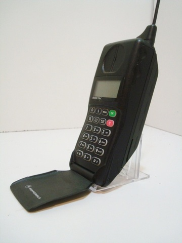 The Motorola MicroTAC is introduced, the smallest and lightest phone available at the time, weighing 12.3 ounces.