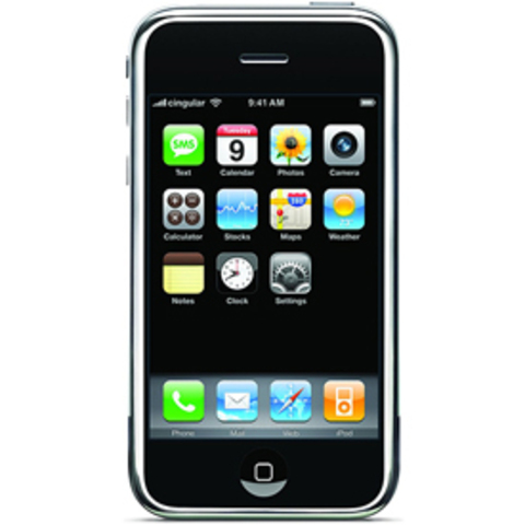 iPhone launches, spurring dramatic handset innovation.