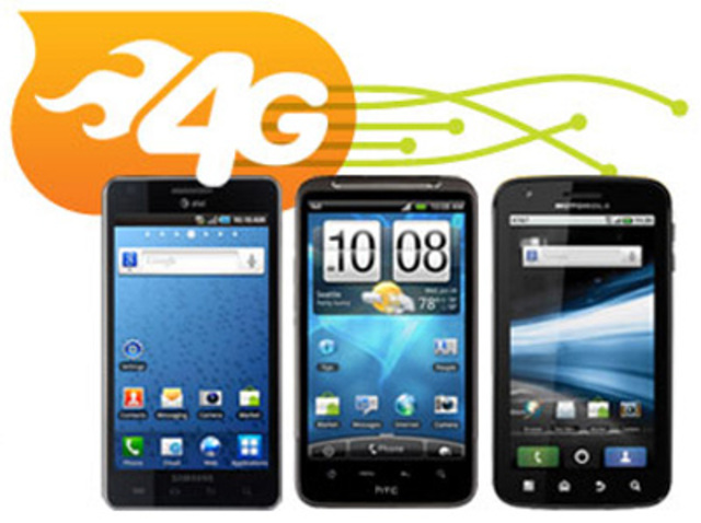 First 4G handset is introduced at International CTIA WIRELESS show.