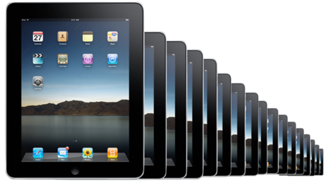 Apple more than 300,000 iPads on the first day of sales