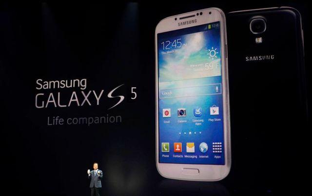 Samsong unveils its 5S smartphone