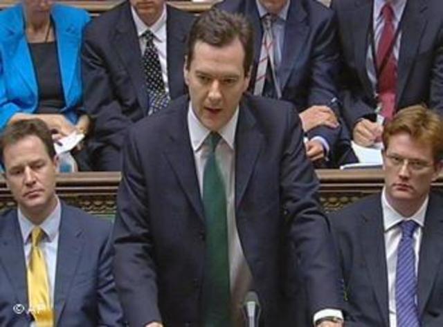 Reino Unido: Austeridade