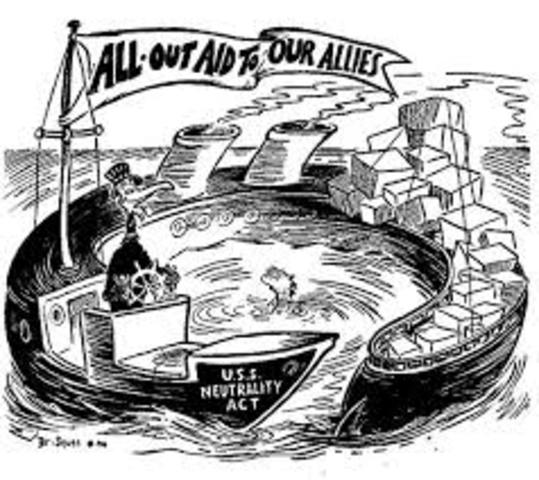 USA signs Neutrality Act
