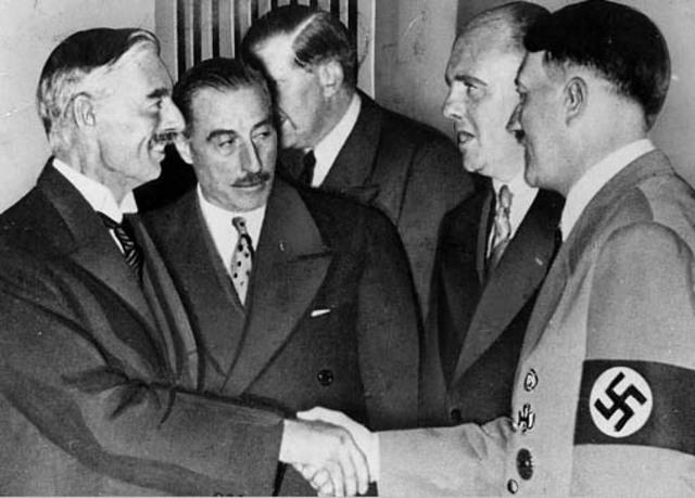 Hitler promises peace