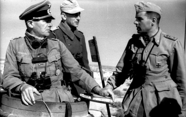 The Germans send the Afrika Korps to North Africa to reinforce the faltering Italians